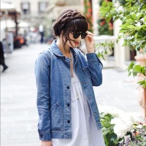 Madewell Joshua tree denim jacket